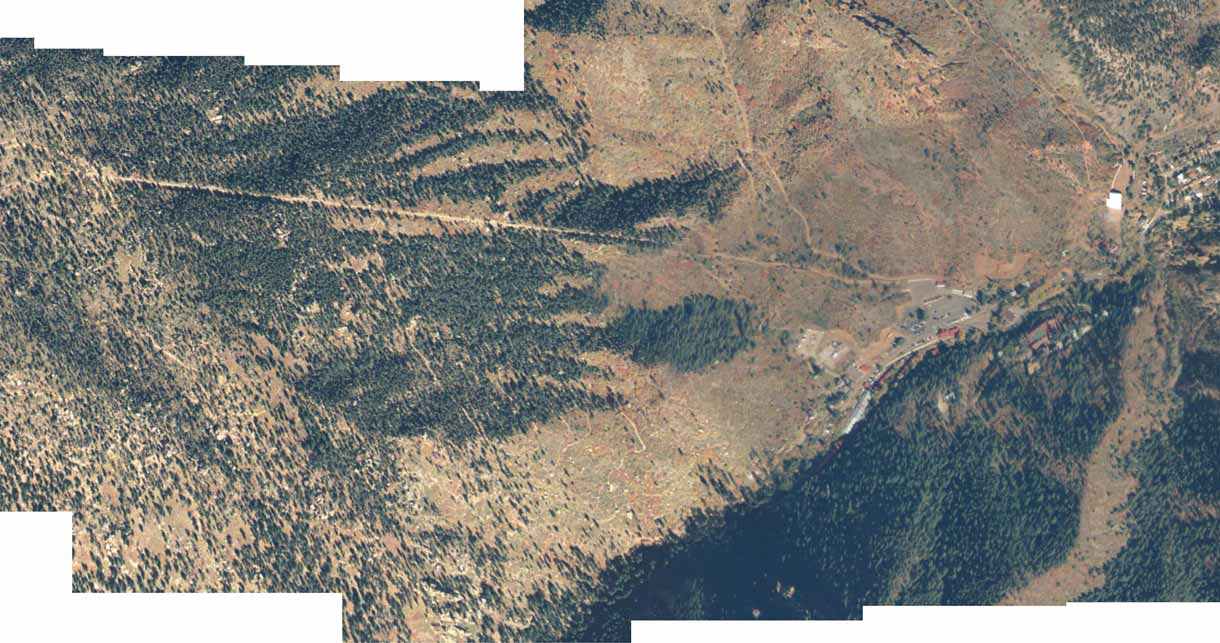 Incline - Satellite view
